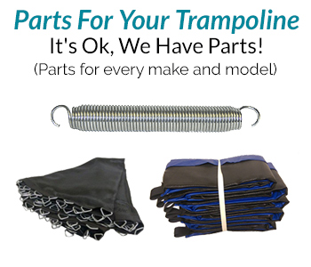Super Fun Trampoline - Parts