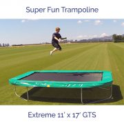 Super Fun Trampoline – Extreme 11 ft x 17 ft GTS