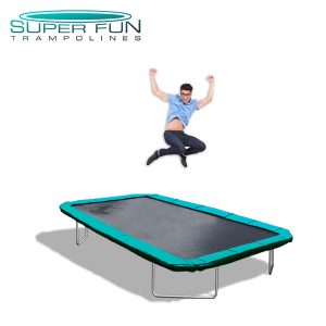 Super Fun Trampolines - Extreme 11 ft x 17 ft GTS