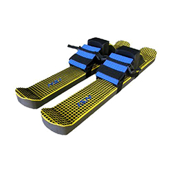 Super Fun Trampoline - BounceBoard Skis