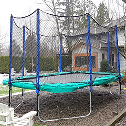 Super Fun Trampoline - Rectangular Safety Net
