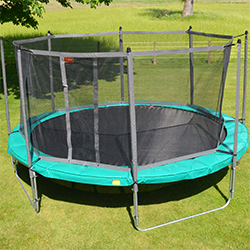 Super Fun Trampoline - Round Safety Net