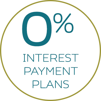 Zero Percent Interest Payment Plans